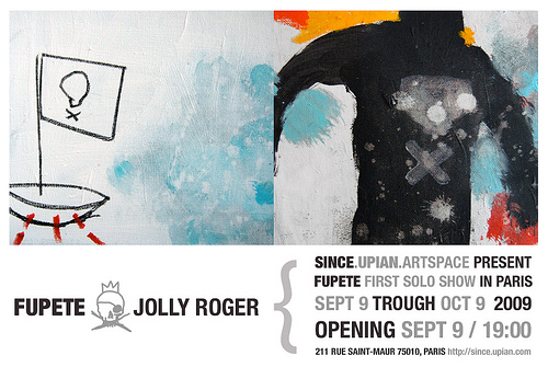 "Fupete 3858401167 837cc186e6 ""Jolly Roger"", opening Sept 9 in Paris!"