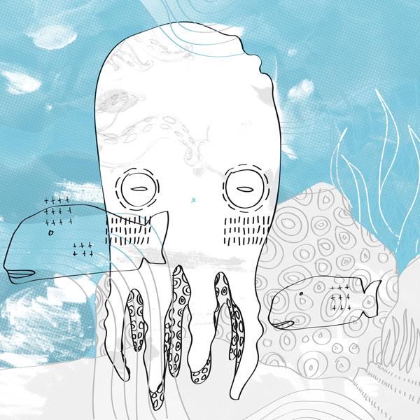 Fupete octopus fupete IdN / Octopus Vulgaris
