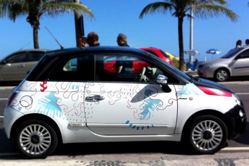 500 ART CARS —®Nova Cultura Contemporanea, Rio de Janeiro, 2011