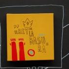 EL REY DE LA BASURA —acrylic on canvas, 2008