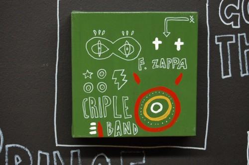 CRIPLE BAND —acrylic on canvas, 2008