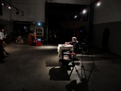 scripta volant / scripta manent —Gianluca Cupisti's performance