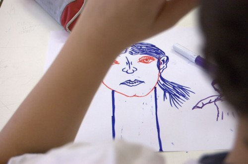 drawing as a freedom tool —Fupete's kids workshop