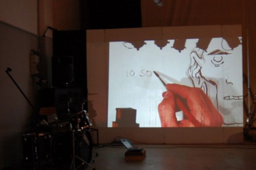 video screenings —Davide Toffolo