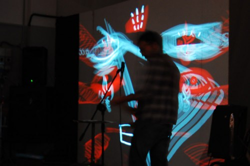 FOCO THEORY — live audio visual concert at Drawing(a)live Festival, Viareggio 2011