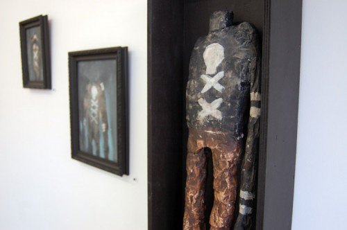 JOLLY ROGER — installation, solo show at Since gallery, Paris 2009