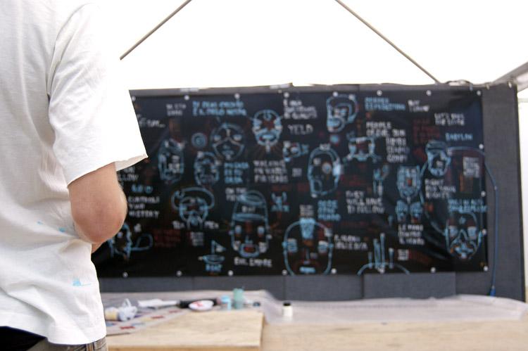 Fupete fupete blacksummer 04 Neo Glyphs 2008 2009