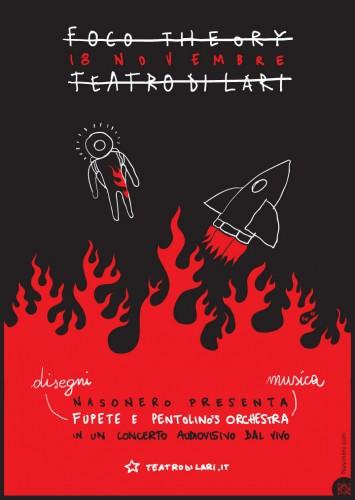 Fupete fupete focotheory lari 18nov1 355x500 Foco Theory @ Teatro di Lari