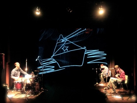 FOCO THEORY — live audio visual concert at Teatro di Lari 2011