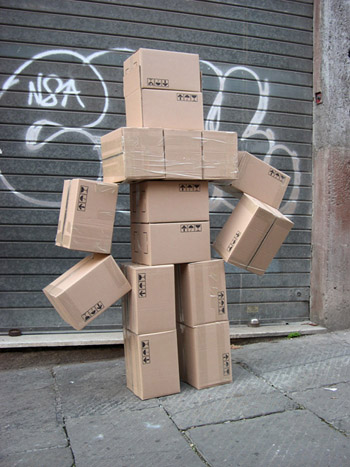 Fupete fupete irobo 2004 cardboard01 Unshaped Form 2004 2007
