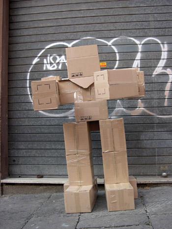 Fupete fupete irobo 2004 cardboard02 Unshaped Form 2004 2007