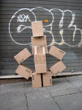 Fupete fupete irobo 2004 cardboard03 Unshaped Form 2004 2007
