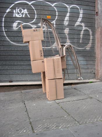 Fupete fupete irobo 2004 cardboard04 Unshaped Form 2004 2007