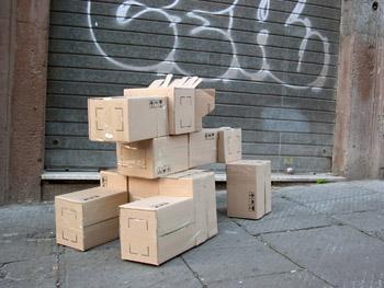 Fupete fupete irobo 2004 cardboard07 Memorabilia.