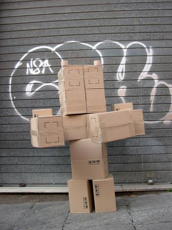Fupete fupete irobo 2004 cardboard08 Unshaped Form 2004 2007