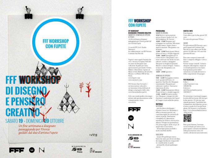 Nasonero Fupete lab disegno Firenze2013 720 October 19 20 Florence, Tuscany/Italy