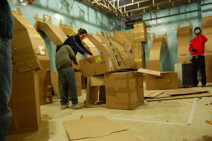 Fupete fupete labyrinth 4 Workshops 2007 2011