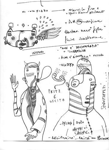 Fupete fupete ocho drawing 01 What Ever 2009 2012