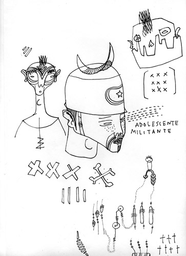 Fupete fupete ocho drawing 05 What Ever 2009 2012