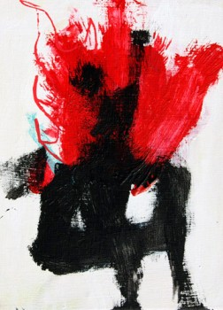 HIM — acrylics on canvas, 2012