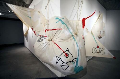 INFINITO TESO (Trans. Infinite Tense) — Fupete installation at MIS Image and Sound Museum, NOVA Festival, Sao Paulo 2012