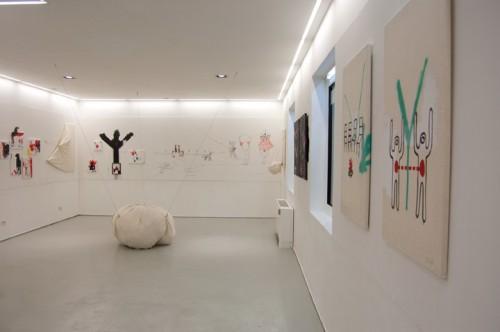 BRUCIA — installation, solo show at ROJO Artspace, Milano 2012
