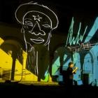 OSCURE LUCI COLORATE —Live audio visual concert, Abbazia di Montescaglioso 2012