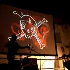 FOCO THEORY RMX —Live audio visual concert, Lucania Film Festival, Pisticci 2012