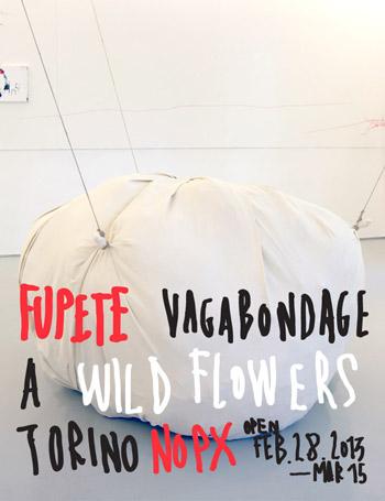Fupete Fupete Wild 2013 exposicion350b Fupete a Wild Flowers Torino