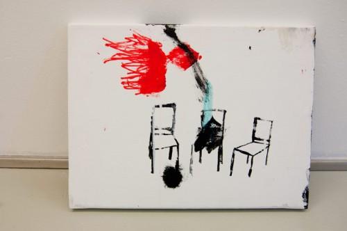FAMILY —acrylics on canvas, 2012
