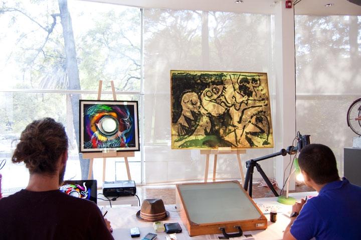Fupete Fupete MAMexico2012 wip 03 720x478 | Artist & illustrator