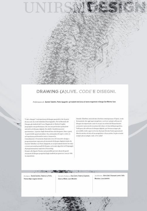 Fupete fupete studenti design 501x720 Generative Design Drawing @UnirSM / IUAV