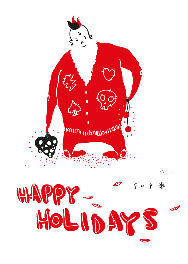 Fupete fupete happy holidays 2015 Happy holidays