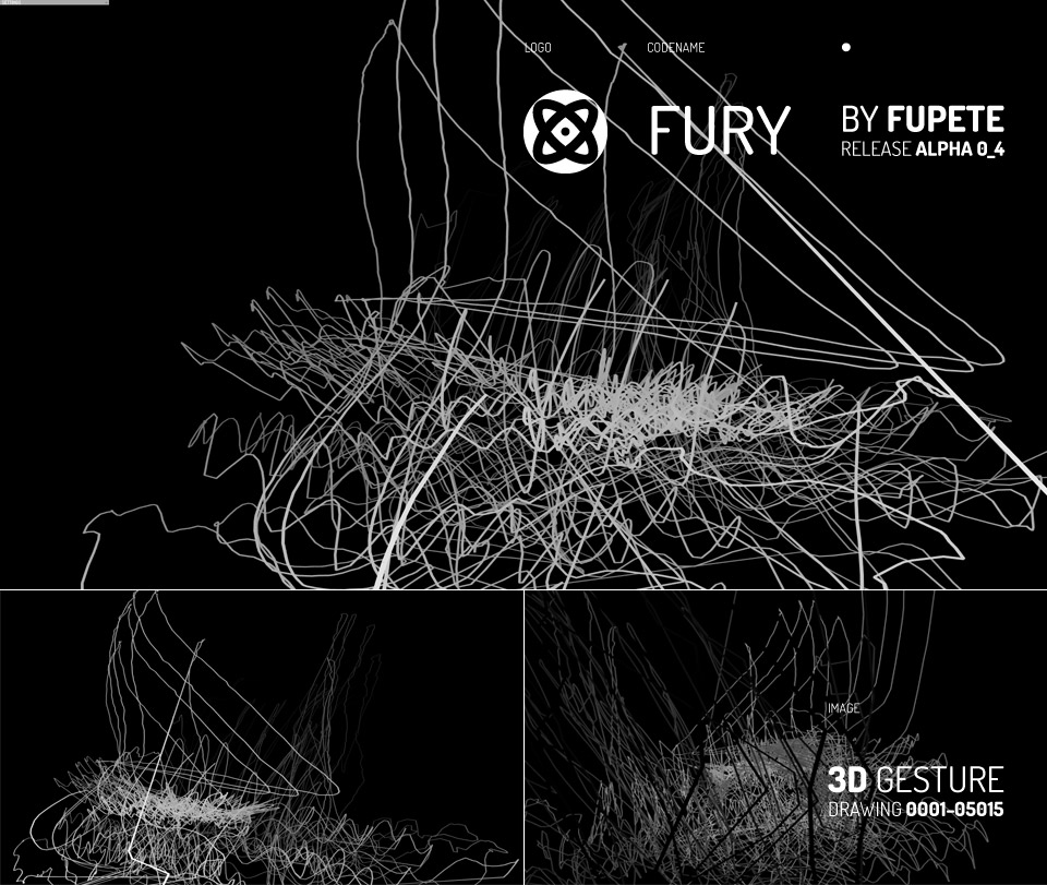 Fupete FURY 0001 3D GESTURE DRAWING 0001 3